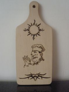 wodden chopping board