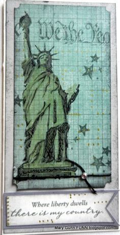 Home of the Brave - available only through the end of July - donation made to USO - Mary Gunn FUNN Made By Mary, Buy Stamps, Frantic Stamper, Scrapbook Pages, Scrapbooking, Close To My Heart, 4th Of July, Card Making, Paper Crafts