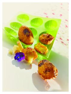 Madeleines au Beaufort Fromage Beaufort, Muffin, Breakfast, Food, Madeleine, Recipe, Morning Coffee, Essen, Muffins