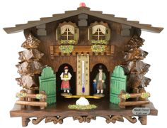 Black Forest Gifts - German Weatherhouse