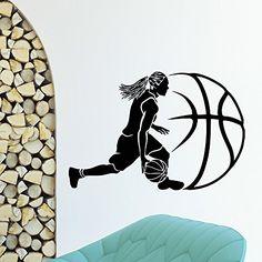 Wall Decal Vinyl Sticker Sport Gym Basketball Player Decor Sb594 ElegantWallDecals http://www.amazon.com/dp/B0120AS0A4/ref=cm_sw_r_pi_dp_L6jYvb1264JPR