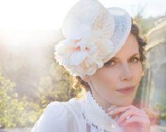 Items similar to Vintage - White lace evening dress on Etsy