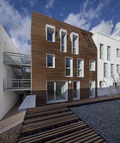 Maîtrise d'oeuvre16 logements à Bezons