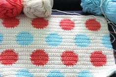little woollie: Made by Hand - dotting on