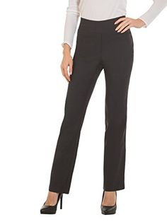 65b6a0576 Red Hanger Bootcut Dress Pants for Women -Stretch Comfy Work Pull on Womens  Pant Indigo-S