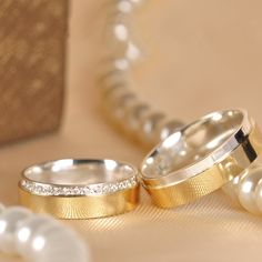 476635f8102 Aliança de Noivado Ouro E Prata Blanca. Lojas Rubi