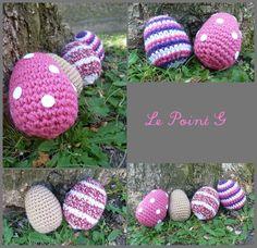 Tuto de Pâques! DIY Oeuf de Pâques au crochet!