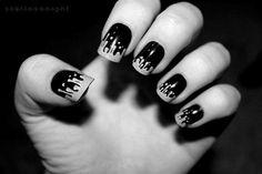Фото, удивительные, б и ш, черно-белые, ногти, красивые Фото, Картикни, Стиль, Мода, Дизайн, Искусство, Творчество, Люди, Лица