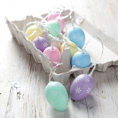 Pastel Easter Egg Fairy Lights