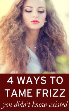 DIY tricks for getting smooth hair