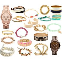 arm candy wishlist, created by emmlanchh on Polyvore