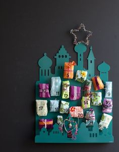 10 kreative DIY-Adventskalender