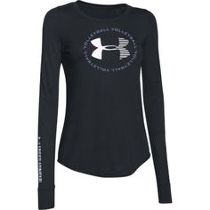 Under Armour Women's Volleyball Long Sleeve T-Shirt - Black