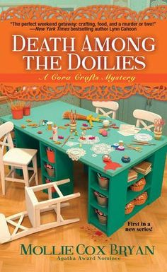 book cover of   Death Among the Doilies