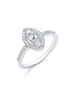 This stunning sterling silver ring is set with 1.45 carats of beautifully cut stones, accentuated by BOUTON`s signature micro pave detailing to create a timeless investment piece.