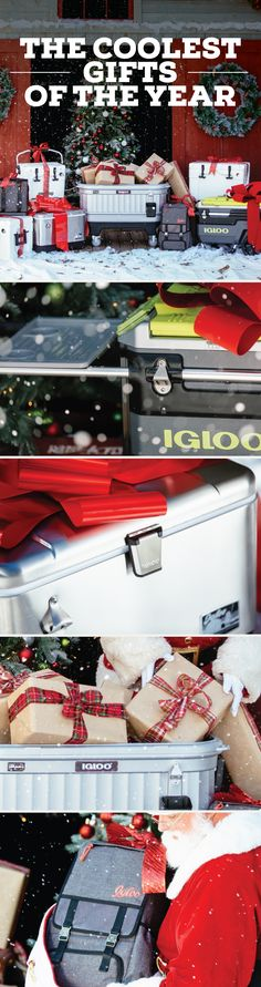 Shop the coolest gifts of the year – we have an Igloo Cooler for everyone on your list.