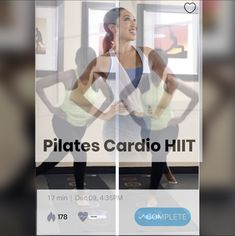 Cardio Pilates, Hiit, Moves App, Fitness, Fun, Fashion, Moda, Fashion Styles, Fashion Illustrations
