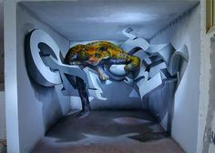 45 Most Awesome Works of 3D Graffiti Art
