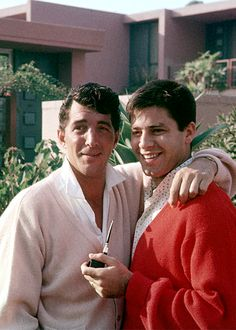 Dean Martin and Jerry Lewis c. 1955. Photo by Gerald K. Smith