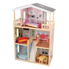 Doll Houses -Mia Doll House -Doll Houses and Accessories for Girls. Find|Buy|Shop|Compare|LollipopMoon.com only $169.00 - Doll Houses