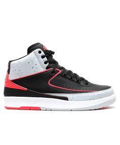 cfc8786d31cc80 Air Jordan 2 Retro Infrared 23 Black Infrared 23 Pr Pltnm Wht 385475 023