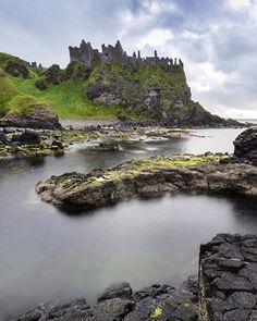 Dunluce Castle, County Antrim, Northern Ireland Photograph by Jacek Kadaj, National Geographic Your Shot