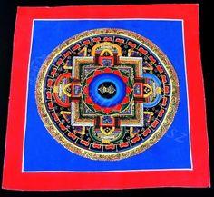 Mandala dorje szimbólummal | Arany Lótusz Ezoterikus Webáruház