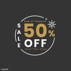 Christmas special sale off vector Web Design, Layout Design, Logo Design, Graphic Design Brochure, For Sale Sign, Sale Banner, Sale 50, Sale Poster, Typography Logo