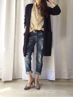 155cm以下ファッショニスタに学ぶ♡4つの着こなしポイント - Locari(ロカリ)