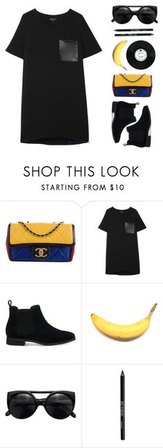"""""""babe you the best"""" by florenciafashionstreethunter ❤ liked on Polyvore featuring Chanel, rag & bone, TOMS, Urban Decay and topset"""