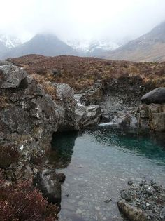 Fairy Pools: Towards the Waterpipe Gully
