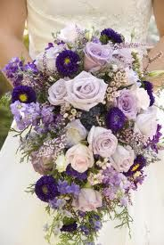Love the texture and flower choices. In blush instead of purple and round...