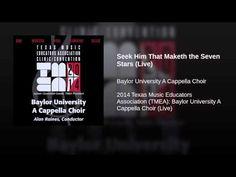 Seek Him That Maketh the Seven Stars (Live) - YouTube