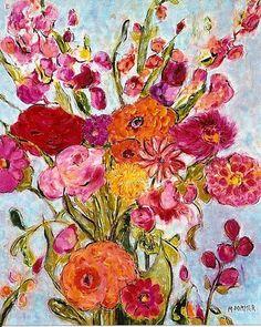 """Floral Extravaganza 24""""x30"""".jpg (511×639)"""