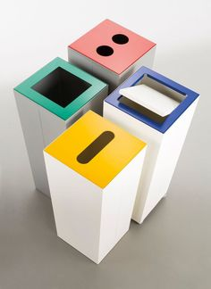 Start your offce recycling initiatives with these recycling bin office ideas. Over forty recycling bin ideasf or your office. Feed your design ideas now. Recycling Station, Recycling Center, Recycling Bins, Office Furniture Uk, Street Furniture, Furniture Online, Ikea Furniture, Furniture Websites, Furniture Movers