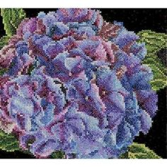 """Thea Gouverneur Sky Study I On Aida Counted Cross Stitch Kit-5.75/""""X13.75/"""" 18 Cou"""