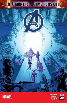 Avengers (2012-) #36 - In 7 months, time runs out! The Avengers and the Illuminati are willing to go to war over what must be done - but how could this all have happened?
