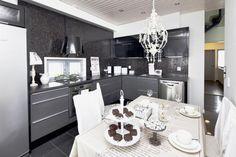 Ripaus romantiikkaa keittiöön...  @Asuntomessut Kokkolassa 2011