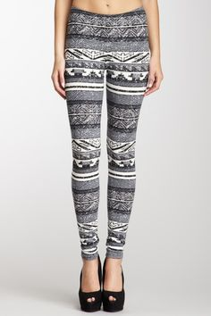 DOMINO Aztec Print Legging on HauteLook
