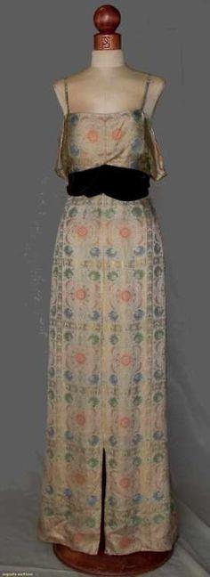 Bonnie Cashin 1930s Evening Gown