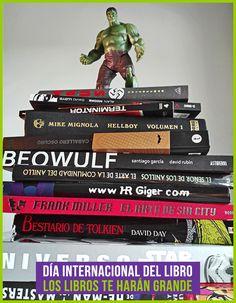 Disfruta del Día Internacional del Libro como debe de ser, leyendo un buen libro, unos buenos cómics, etc. Leer es un placer y te hará más grande.😉  #domingo #libros #comics #lectura #books #happymutan #mutantoys #tiendaonline #felizdiadellibro