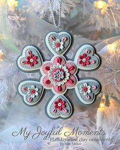 Hey, I found this really awesome Etsy listing at https://www.etsy.com/listing/185766016/handcrafted-polymer-clay-ornament