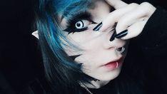 Scene Girls, Emo Scene, Goth Makeup, Emo Hair, Halloween Face Makeup, Make Up, People, Beauty, Instagram