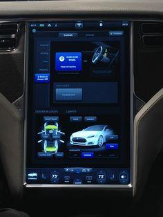 クルマに17インチモニタ搭載! 3G常時接続。テスラ「モデルS」に見るクルマ×ITの未来の形とは? « GQ JAPAN