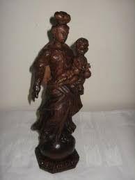 Jezus en Maria beelden.