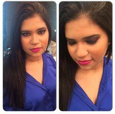 Nossa cliente @estelaoliveira_ arrasou na maquiagem que aprendeu no curso de automaquiagem que fez com o Beauty Team da NYX do Shopping Boulevard Belém.