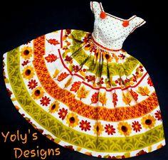 THANKSGIVING Silkstone Reproduction Barbie Doll Dress Clothes Fashions Handmade