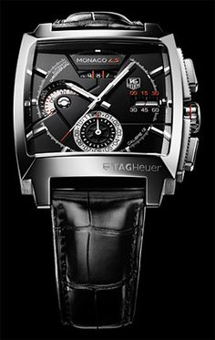 Tag Heuer Monaco LS. This concept builds upon the popular, elegant, and timeless Monaco. $TBD