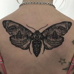 Skull winged moth. Such fun! Thanks again.