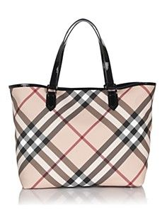 Burberry plaid goes with everything!